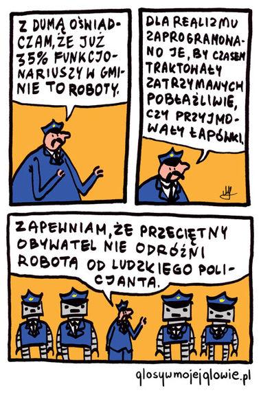 Robopolicjanci