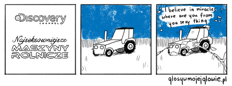 Najseksowniejsze maszyny rolnicze
