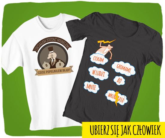 zabawne koszulki