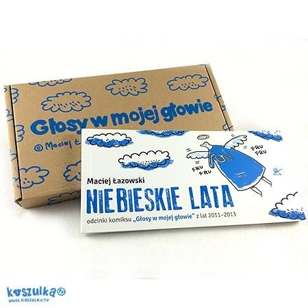 Niebieskie Lata okladka karton